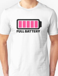 Full battery Unisex T-Shirt