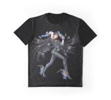 Smash 4 Bayonetta Character Artwork Graphic T-Shirt