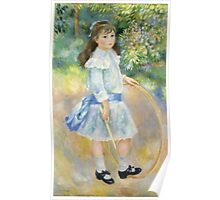 Renoir Auguste - Girl With A Hoop 1885 Poster
