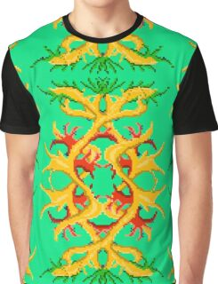 Gold tree green Graphic T-Shirt