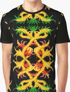 Gold tree black Graphic T-Shirt