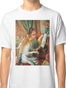 Renoir Auguste - Girls At The Piano 1892 Classic T-Shirt