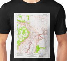 USGS TOPO Map Arizona AZ Lees Ferry 314748 1954 62500 Unisex T-Shirt