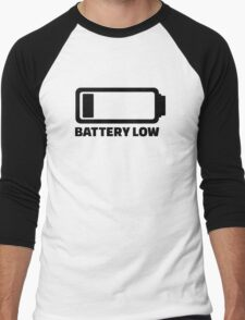 Low battery Men's Baseball ¾ T-Shirt