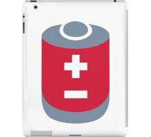 Battery icon iPad Case/Skin