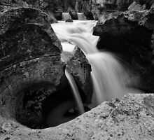 Nigel Creek Water And Stone by Bob Christopher