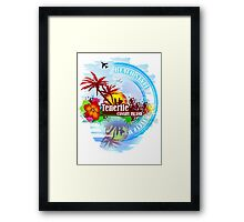 Tenerife Canary Island Framed Print
