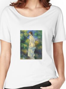 Renoir Auguste - Standing Nude 1889 Women's Relaxed Fit T-Shirt