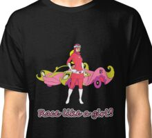 Race Like A Girl! Classic T-Shirt