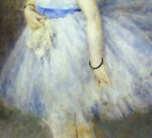 Renoir Auguste - The Dancer 1874 Sticker