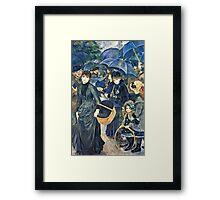 Renoir Auguste - The Umbrellas  Framed Print