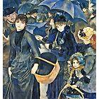 Renoir Auguste - The Umbrellas  by bestartists