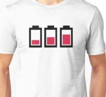 Battery charge Unisex T-Shirt