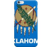 Oklahoma State Flag iPhone Case/Skin