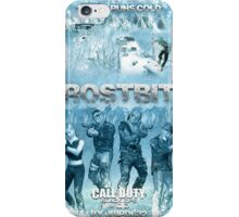 Call of Duty: Zombies Poster - Frostbite iPhone Case/Skin