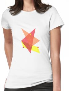 Abstract Triangle Womens Fitted T-Shirt