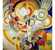 Robert Delaunay - Carousel With Pigs (Or Electric Carousel)  Photographic Print