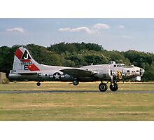 "Boeing B-17G Fortress II ""Sally B"" 44-85784 G-BEDF Photographic Print"