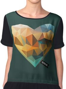 Vector Love 03 Chiffon Top