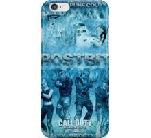 Call of Duty: Zombies Poster - Frostbite 2 iPhone Case/Skin