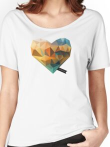 Vector Love 03 Women's Relaxed Fit T-Shirt