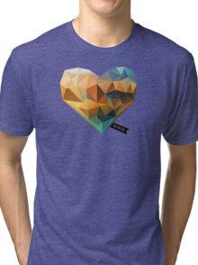 Vector Love 03 Tri-blend T-Shirt