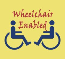Wheelchair Enabled One Piece - Short Sleeve
