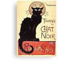 Theophile Alexandre Steinlen - Tournee Du Chat Noir De Rodolphe Salis  Canvas Print