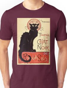 Theophile Alexandre Steinlen - Tournee Du Chat Noir De Rodolphe Salis  Unisex T-Shirt