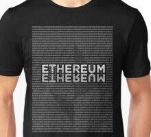 Ethereum Binary rectangle shaped Unisex T-Shirt