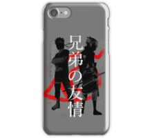 Brotherly friendship iPhone Case/Skin