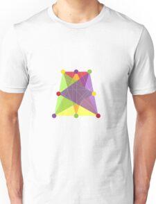 Crisscross Trapezoid  Unisex T-Shirt