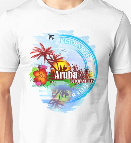 Aruba Dutch Antilles Unisex T-Shirt
