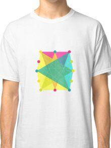 Crisscross Polygon Classic T-Shirt