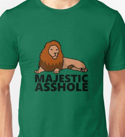 Majestic Asshole Lion Unisex T-Shirt