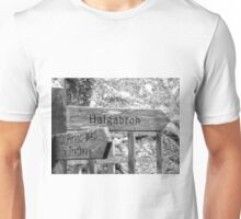 Signpost to where? Unisex T-Shirt