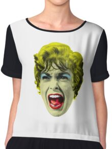 Psycho (1960 film) by Alfred Hitchcock Chiffon Top