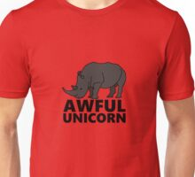 Awful Unicorn Unisex T-Shirt