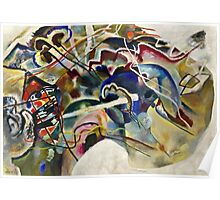 Vassily Kandinsky - Painting With White Border Moscow  Poster