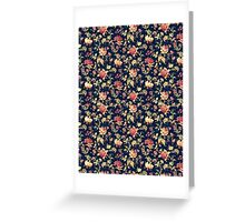 Dark Floral Phone Case Greeting Card