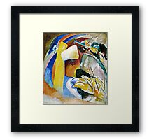 Vassily Kandinsky - Study For Painting With White Form1913  Framed Print