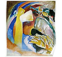 Vassily Kandinsky - Study For Painting With White Form1913  Poster