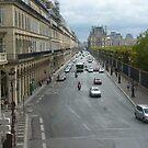 Street perspective - Rue de Rivoli - Paris by bubblehex08