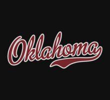 Oklahoma Script Garnet by USAswagg2