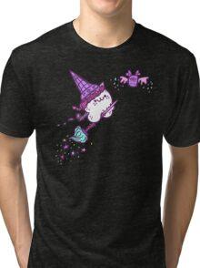 Ice Cream Wiccat Tri-blend T-Shirt