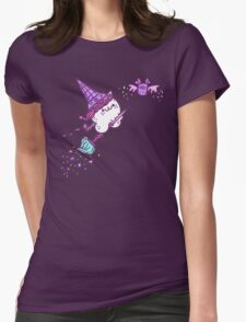 Ice Cream Wiccat Womens Fitted T-Shirt