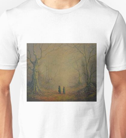Deeper into the forest Unisex T-Shirt