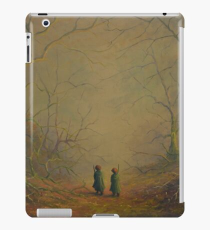 Deeper into the forest iPad Case/Skin