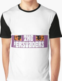 The Persuaders - Curtis + Moore Graphic T-Shirt