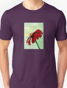 A Red Flower in Sharona's Dreams Unisex T-Shirt